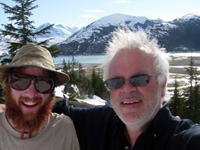 Peter and Neptune gone full-native in Alaska, day 90!